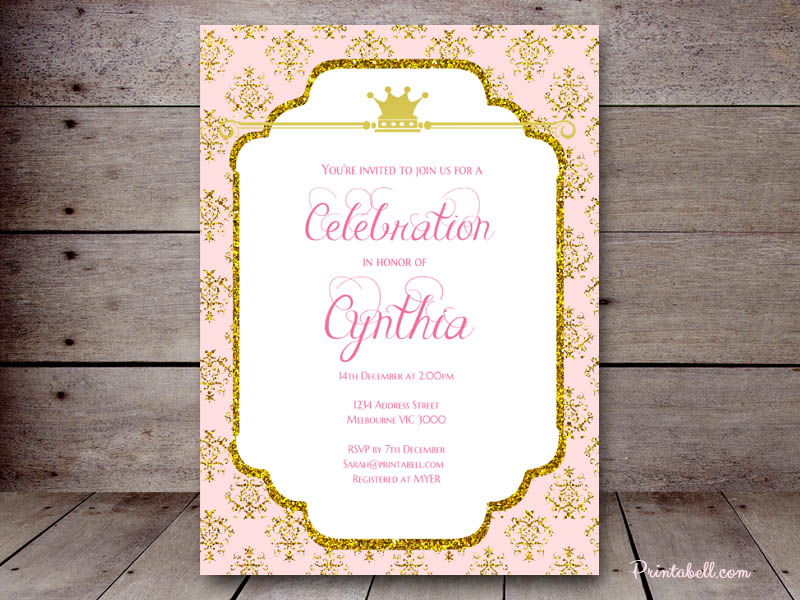 Baby Shower Invitations – Printabell • Create