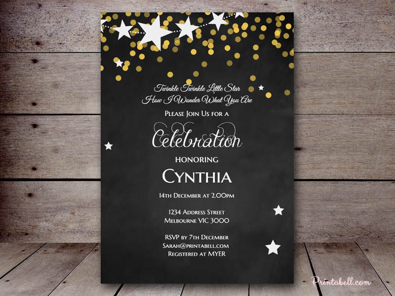 star invitation templates koni polycode co