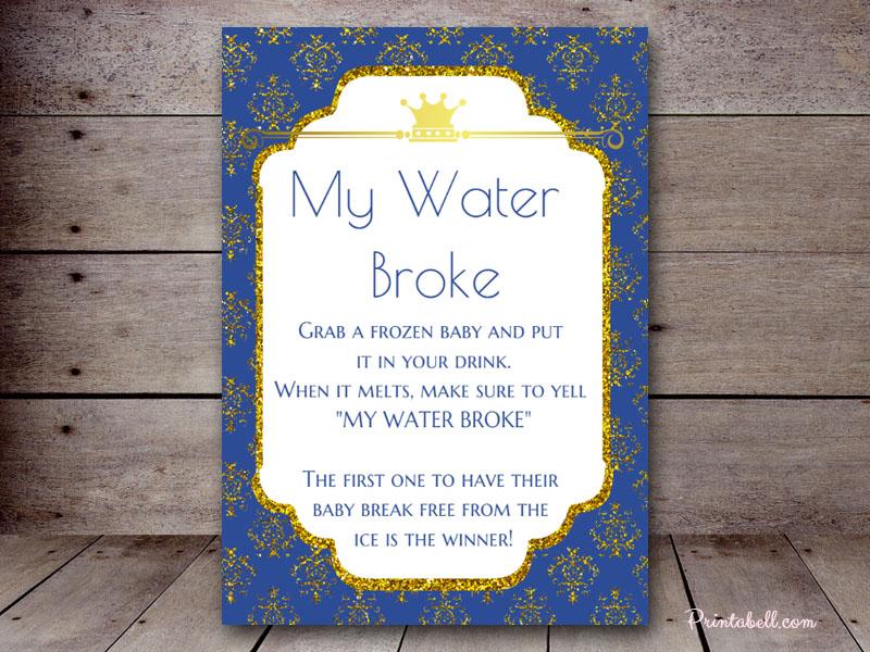 5u2033x7u2033 My Water Broke BS137a