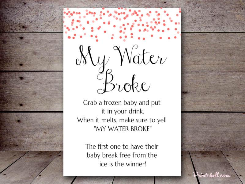 Exceptional 5u2033x7u2033 My Water Broke BS215a