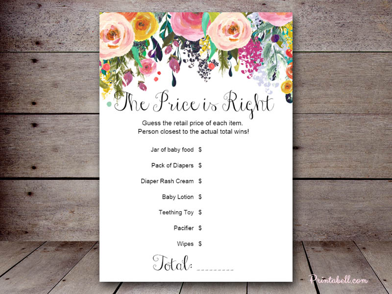 82414874150d Price is Right – Printabell • Create