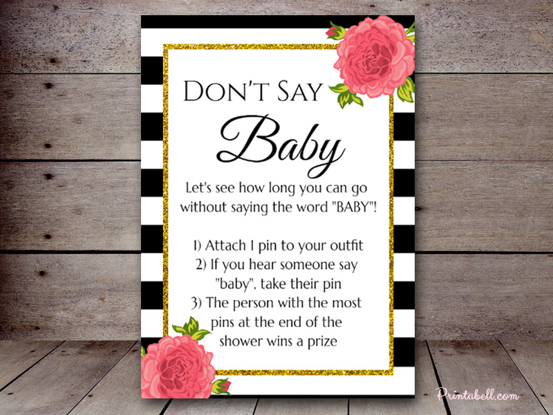 Don't Say Baby – Printabell • Create