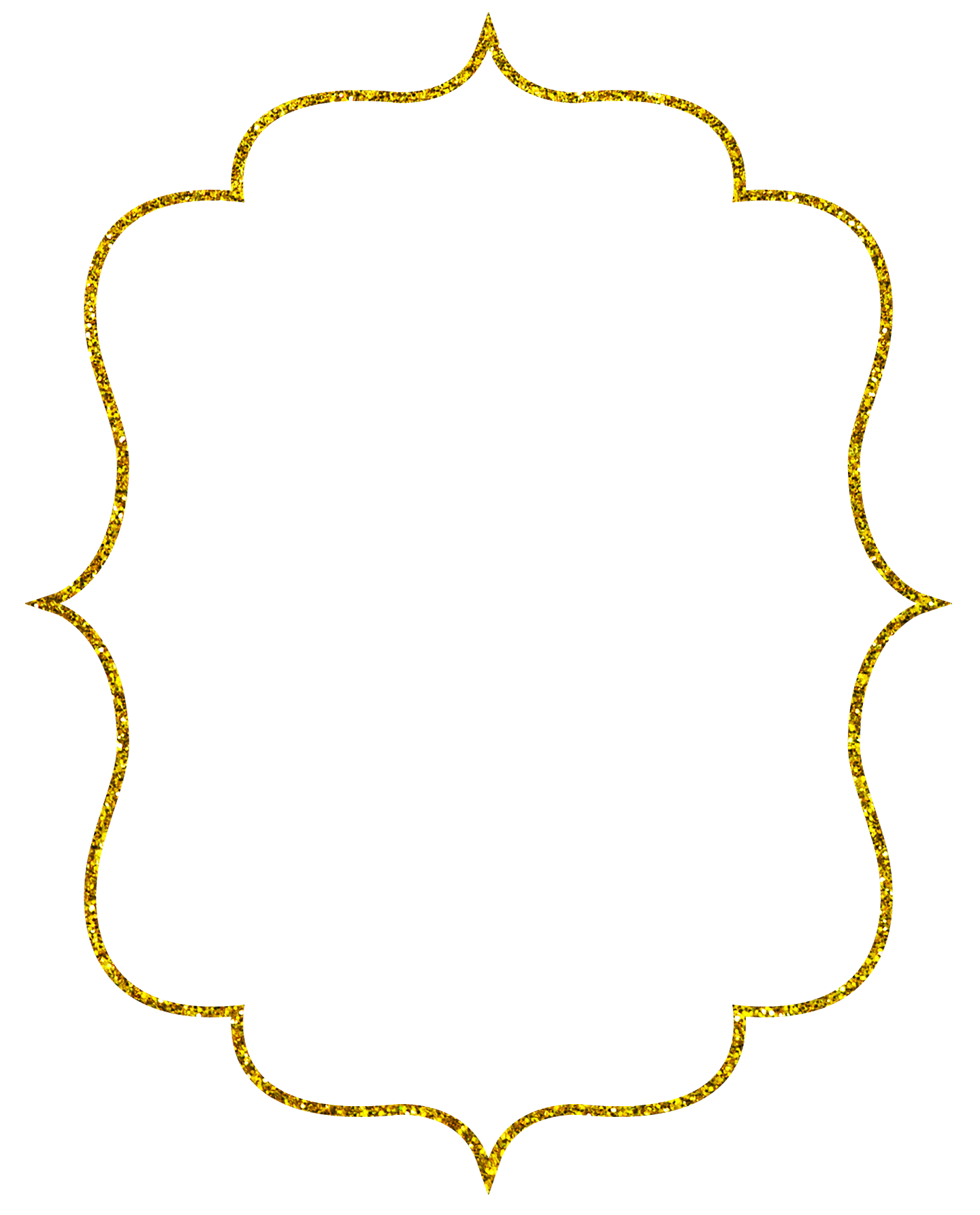 The gallery for --> Gold Pattern Border Png