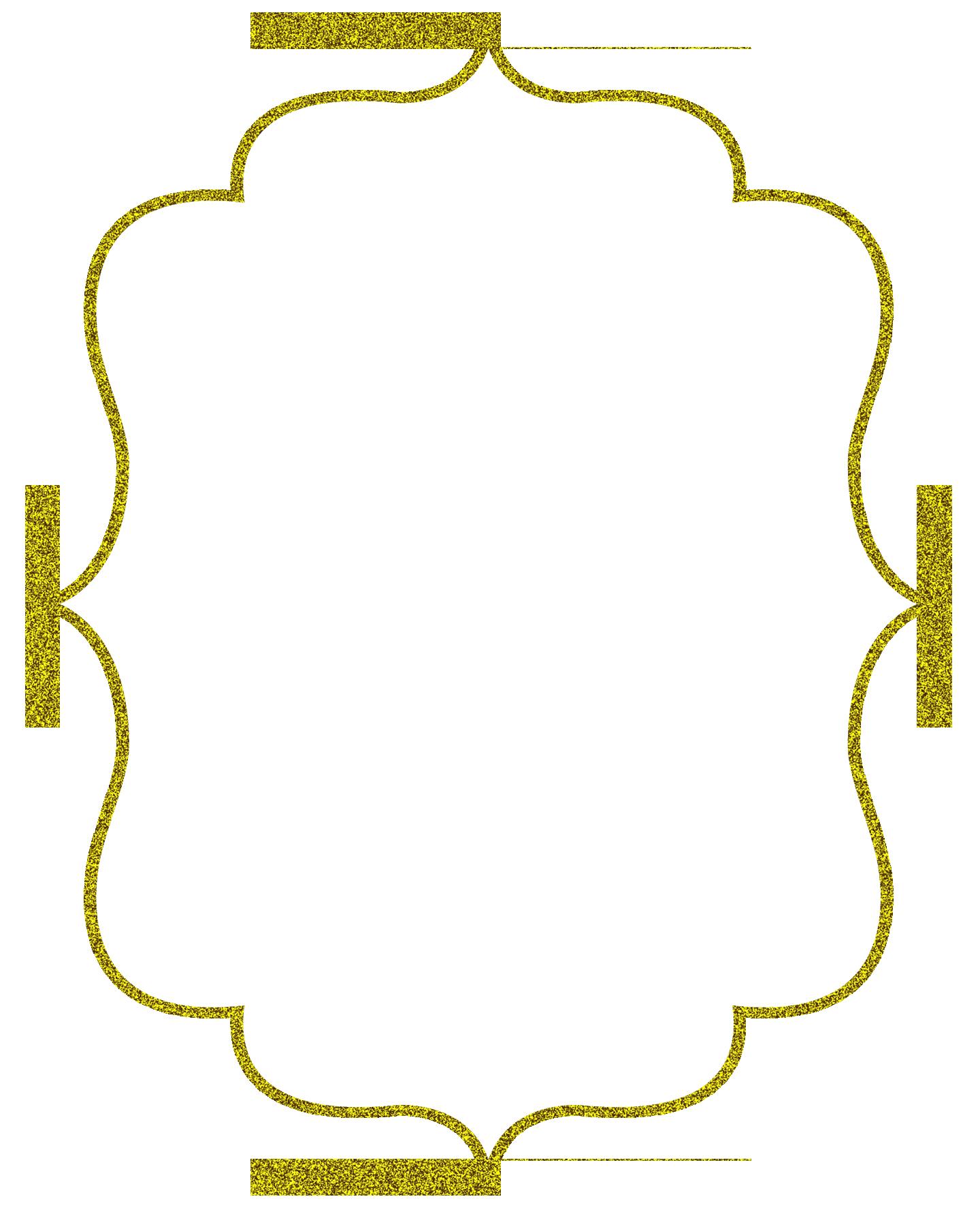 Bracket Frame Border Instant Download Clipart Frames PNG, Square ...