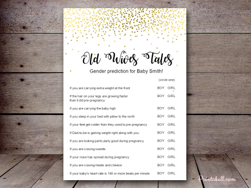 Old Wives Tales – Printabell • Create