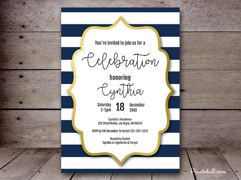 editable bridal shower invitations printabell create