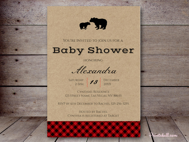 Baby shower invitations printabell create use this template filmwisefo Choice Image