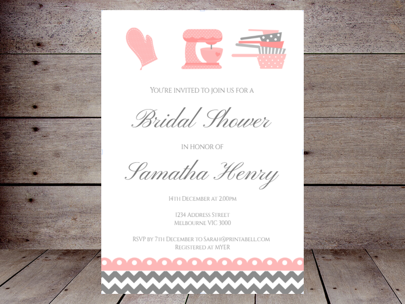 how to create bridal shower invitations