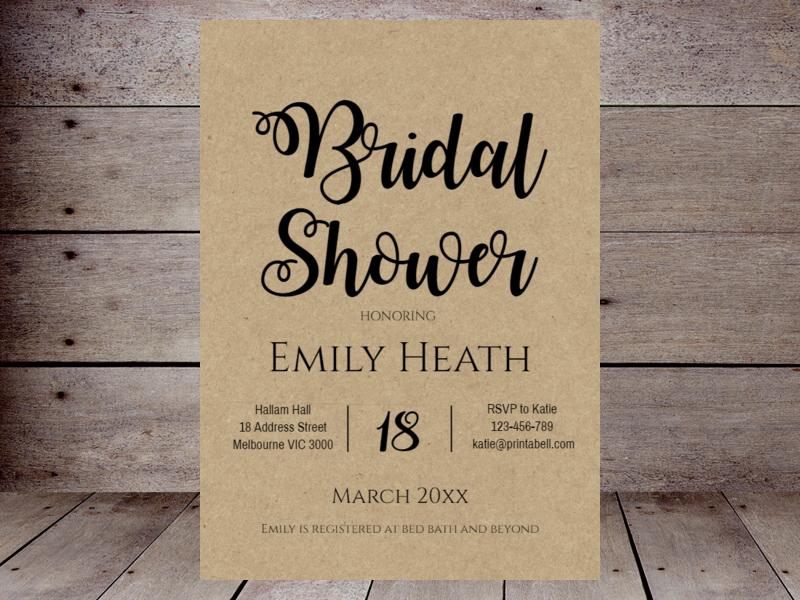 Editable bridal shower invitations printabell create rustic bridal shower 596 filmwisefo