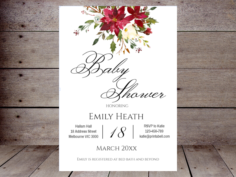 Editable baby shower invitations printabell create use this template filmwisefo