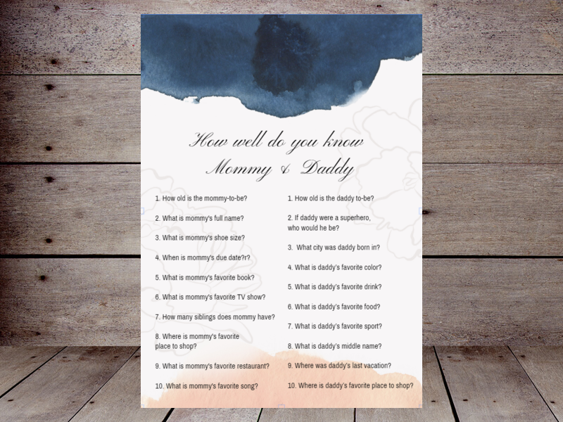 Who Knows Mommy and Daddy Best – Printabell • Create