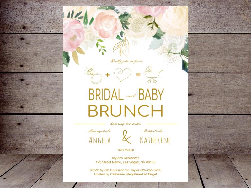 2702b205558 Editable Bridal Shower Invitations – Printabell • Create