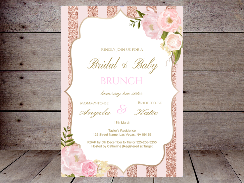 Editable Baby Shower Invitations Printabell Create